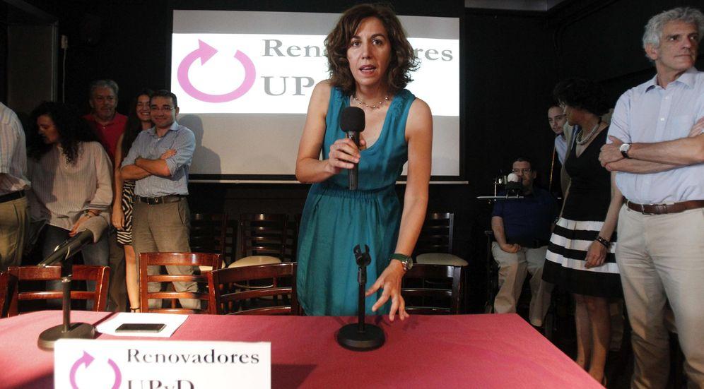 Foto: rene Lozano, durante la presentación hoy de la candidatura Renovadores (Efe)