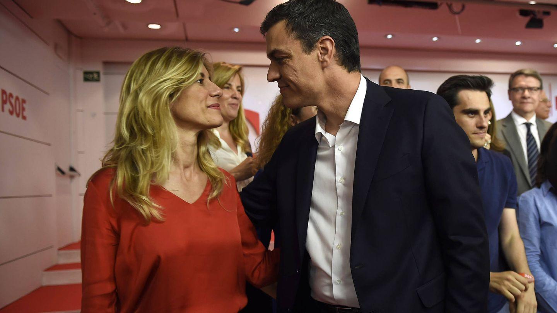 Begoña Gómez y Pedro Sánchez. (Gtres)