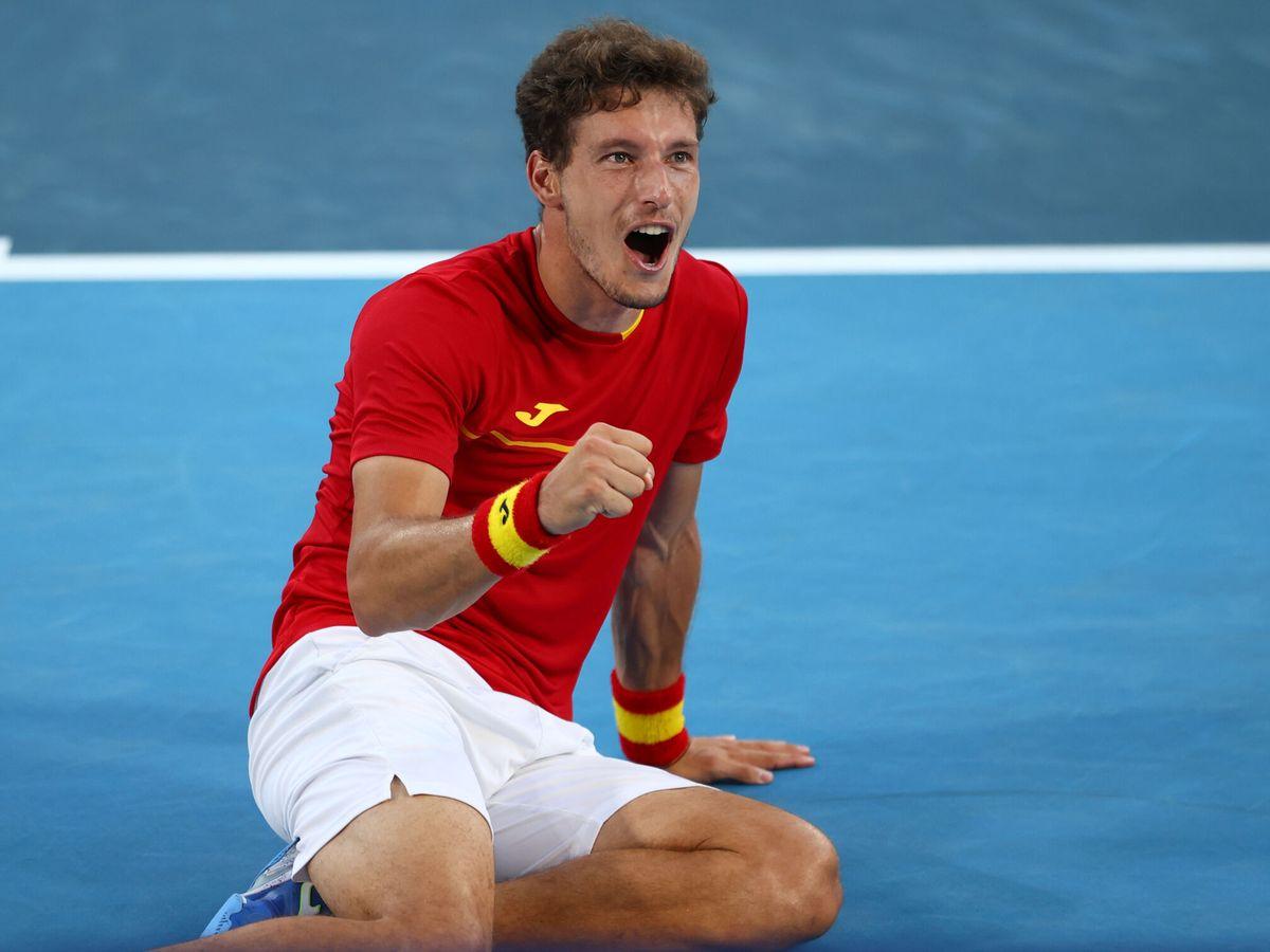 Foto: Pablo Carreño ha dado a España su quinta medalla en Tokio 2020. (Reuters)