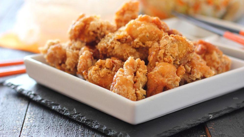 Foto: Pollo frito crujiente al estilo japonés. (Mer Bonilla)