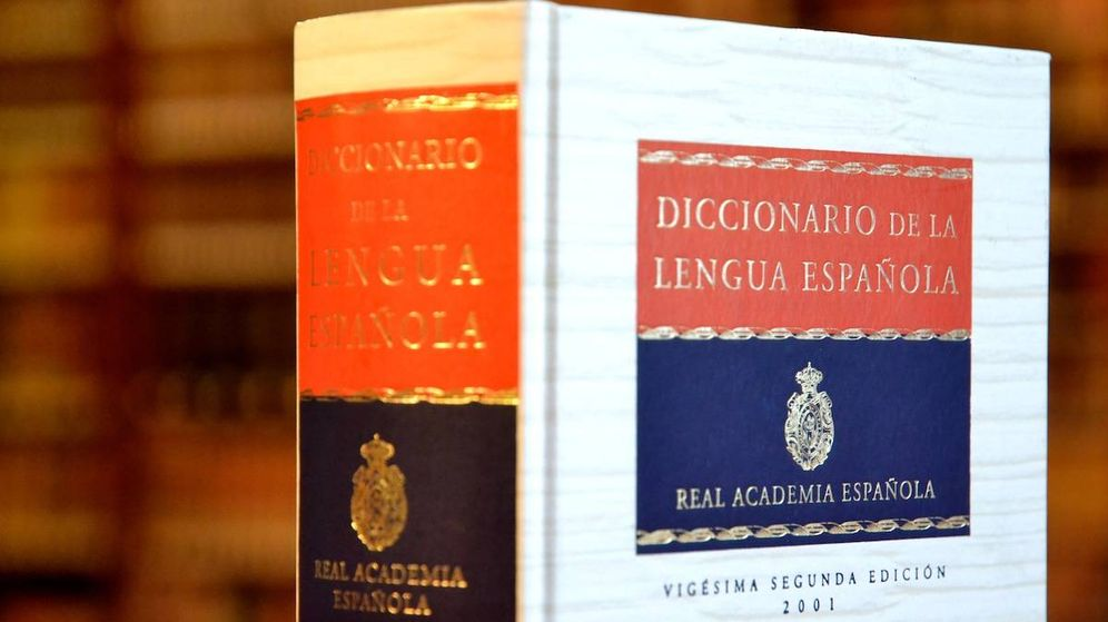 Foto: El diccionario de la Real Academia Española