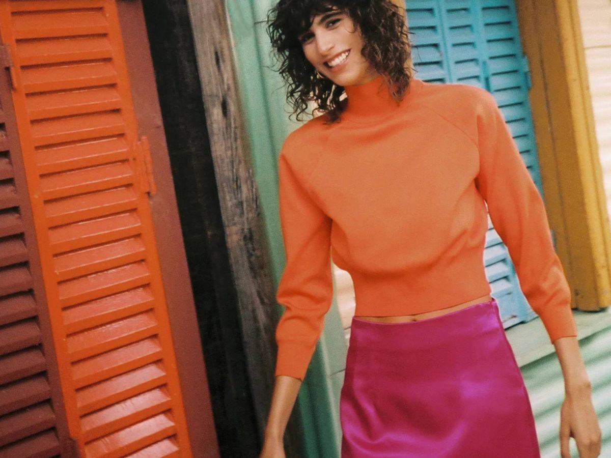 Foto: El nuevo look vibrante de Zara. (Cortesía)