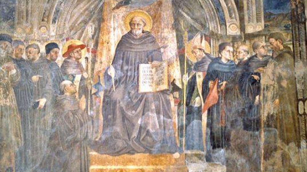 Foto: Fresco de San Giovanni Gualberto en la Iglesia de la Santa Trinidad, en Florencia. (Baldiri /Wikipedia)