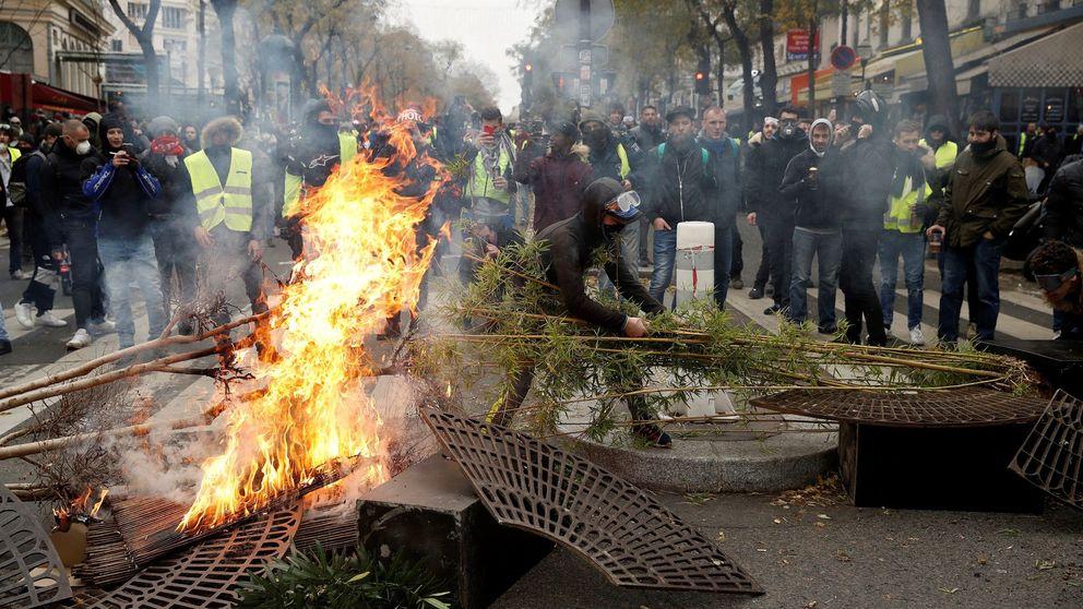 Las protestas de los 'chalecos amarillos' costarán una décima de PIB a Francia