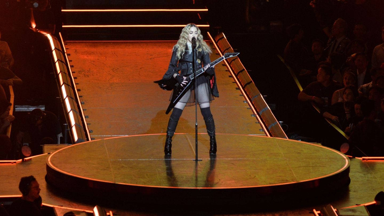 La cantante estadounidense Madonna. (EFE)