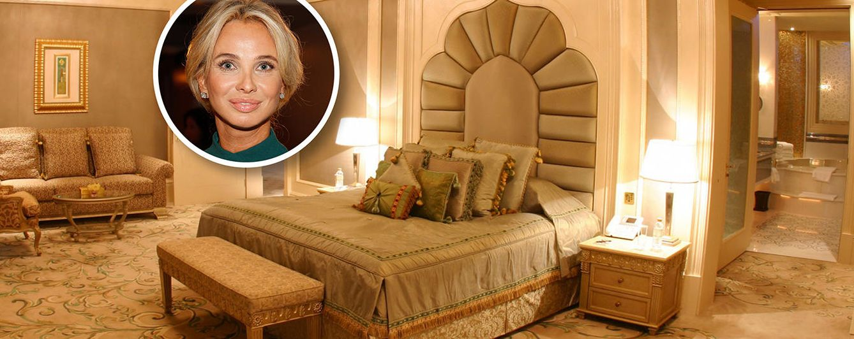 Foto: Así son las suites en las que duerme Corinna
