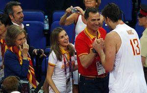 Los príncipes de Asturias y la reina, unidos por el deporte