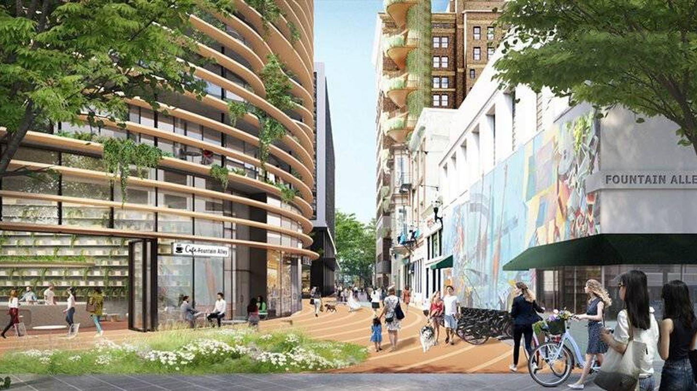 El edificio está pensado para combinar naturaleza y ciudad (BIG)