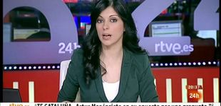 Post de Sirun Demirjian se queda sola al frente del 'Telediario matinal'