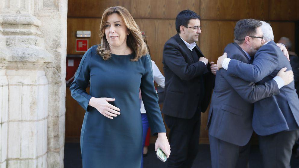 Susana Díaz no empieza con buen pie: Cataluña se le cruza en la campaña