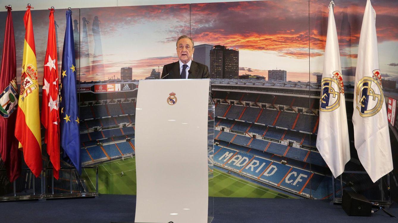 Florentino reparte el negocio de la Superliga entre sus asesores de confianza en ACS y Real Madrid