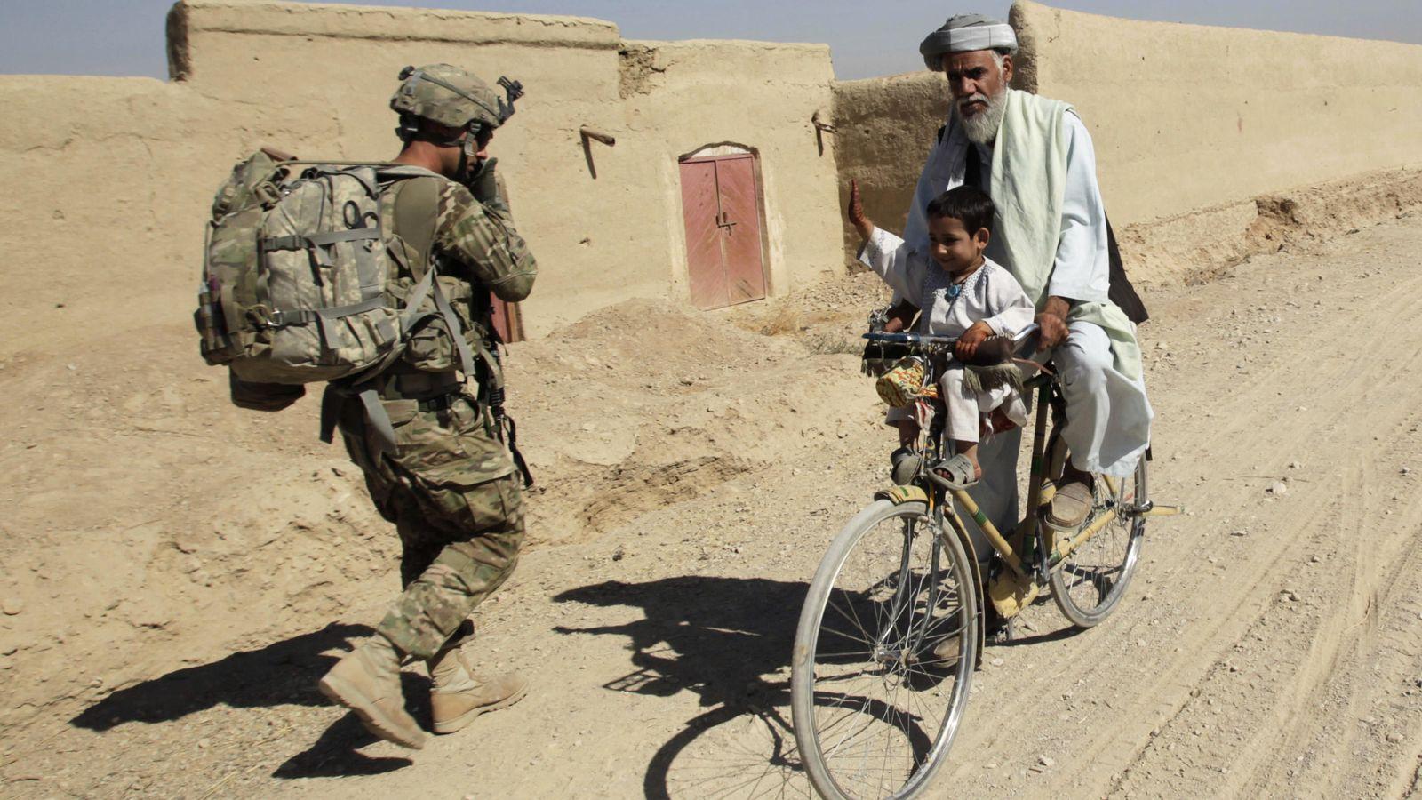 Foto: Un soldado estadounidense en Afganistán en 2012 (Reuters)