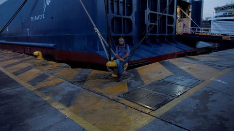 Huelga en el puerto de El Pireo