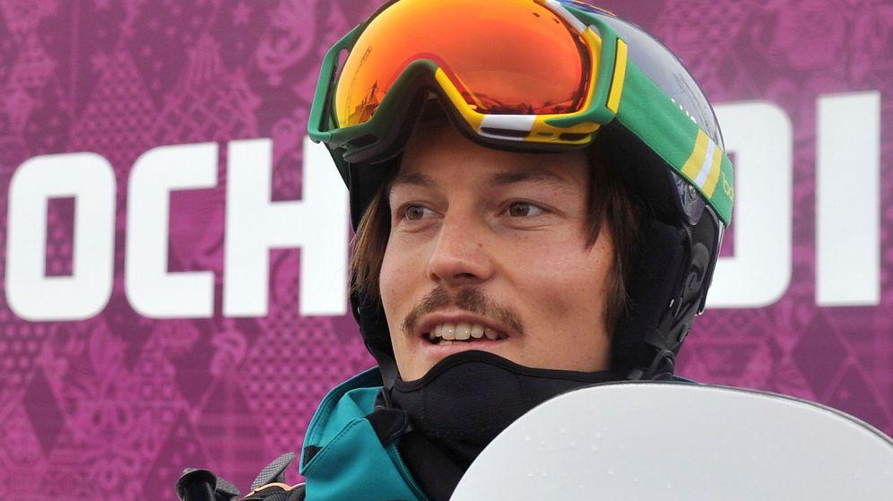 Foto: Alex Pullin, campeón del mundo de snowboard. (Efe)