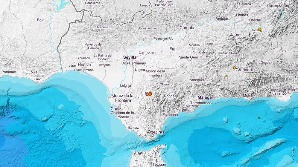 Foto: El epicentro del terremoto se ha situado a 6 kilómetros de Villamartín. (IGN)