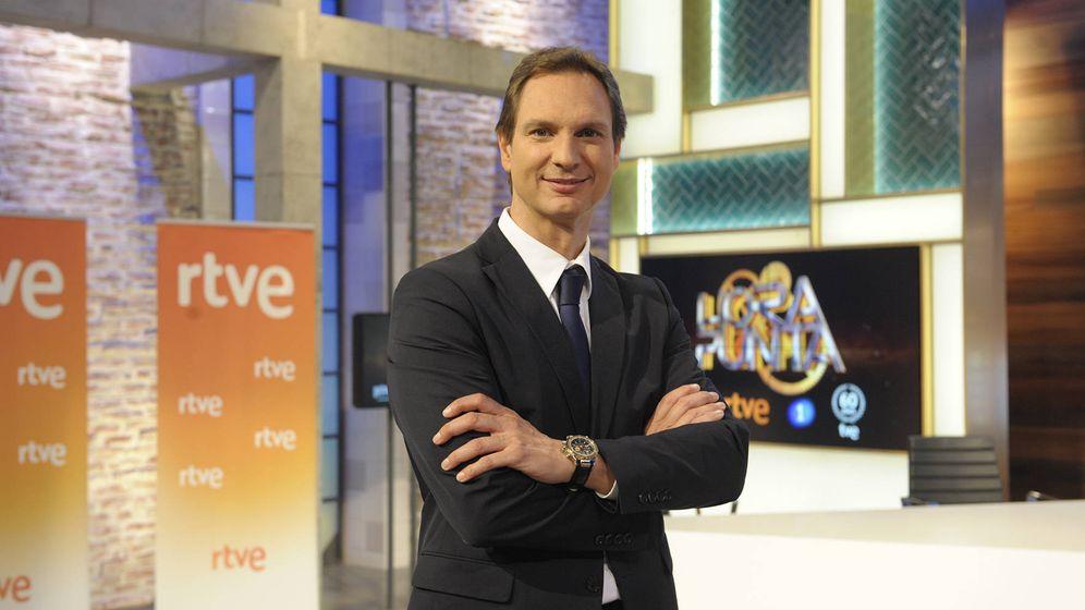 Foto: Javier Cárdenas regresa a La 1 con el programa 'Hora punta' (RTVE)