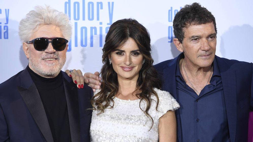 Foto: Pedro Almodóvar, Penélope Cruz y Antonio Banderas. (Limited Pictures)