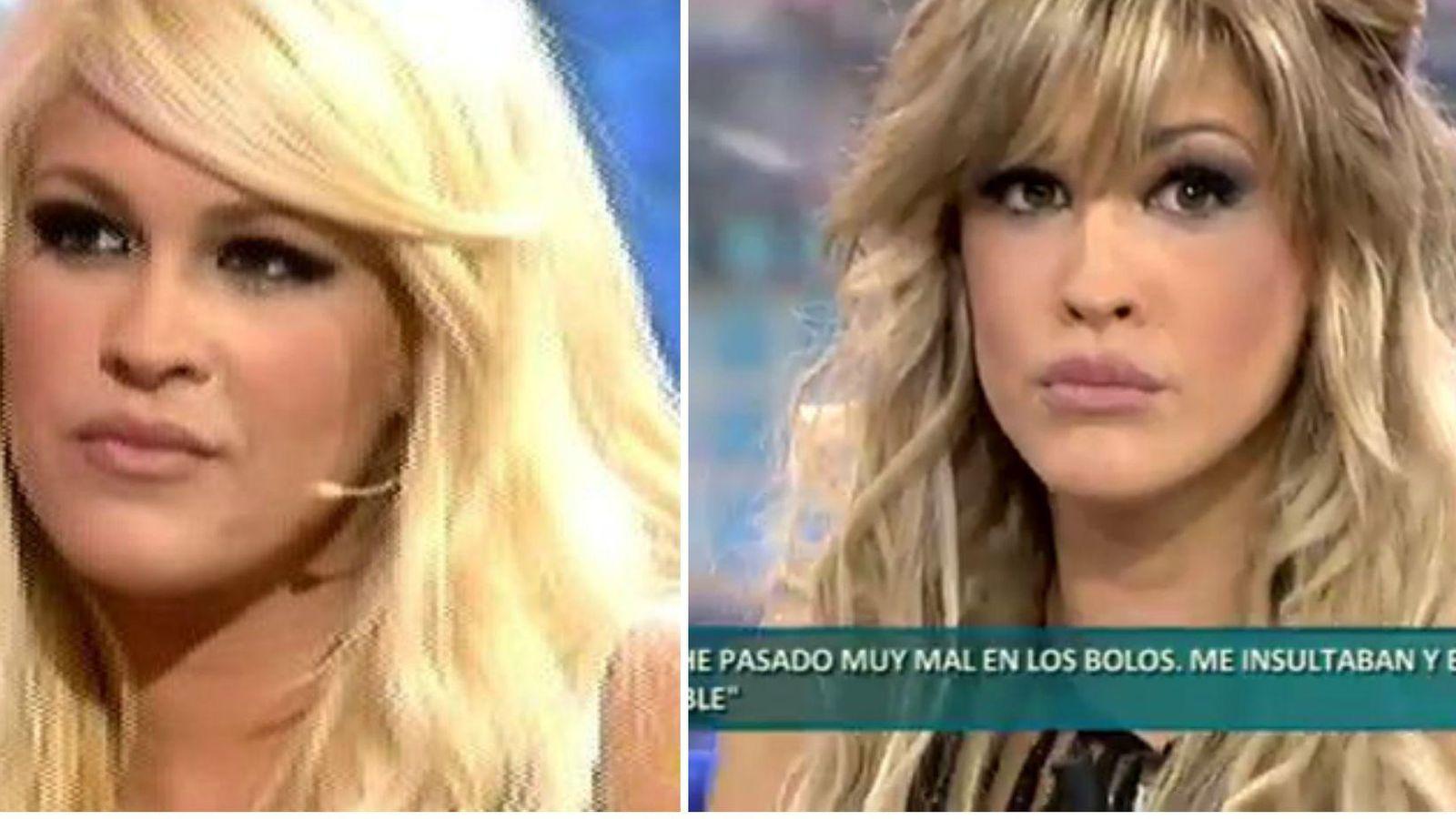 Foto: Ylenia antes (izda) y después (dcha)