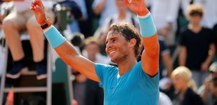 Post de Nadal se mete en su undécima final de Roland Garros al ganar a Del Potro
