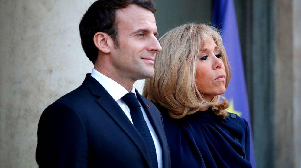 Foto: El matrimonio Macron, en una imagen de archivo. (Reuters)