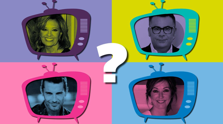 De Jorge Javier a Mª Teresa Campos, ¿qué presentador de televisión eres?