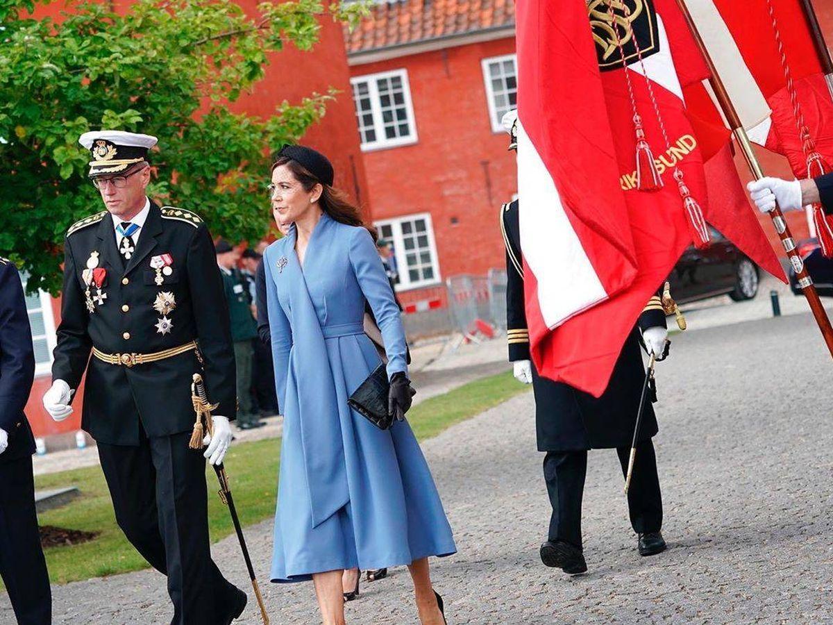 Foto: Mary de Dinamarca y su nuevo look. (Instagram @detdanskekongehus)