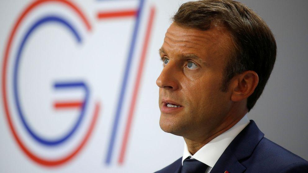 Acercar a Putin, calmar a Trump: Macron impone su agenda en un decadente G-7