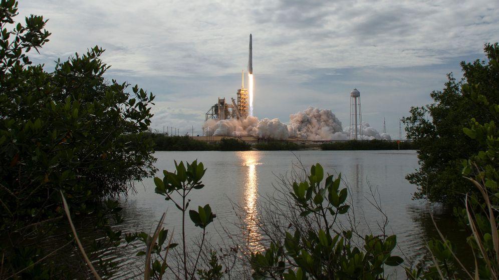 Foto: El Falcon 9 con el satélite español saldrá desde este mismo punto de Cabo Cañaveral (Reuters)