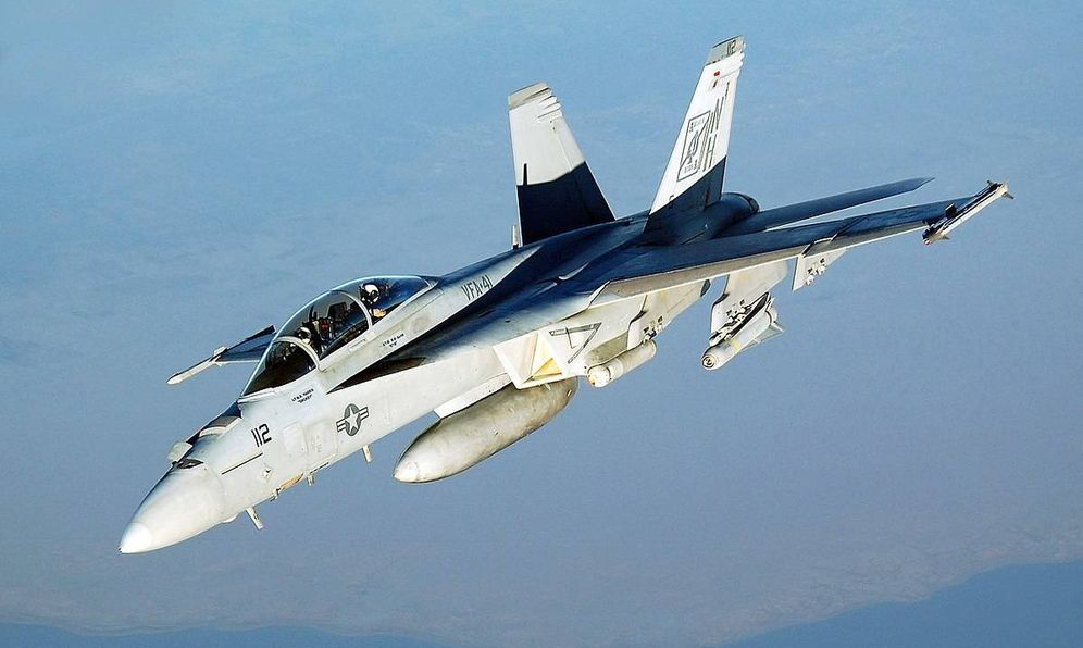 Foto: F-18 Hornet estadounidense. (Foto: US Navy)