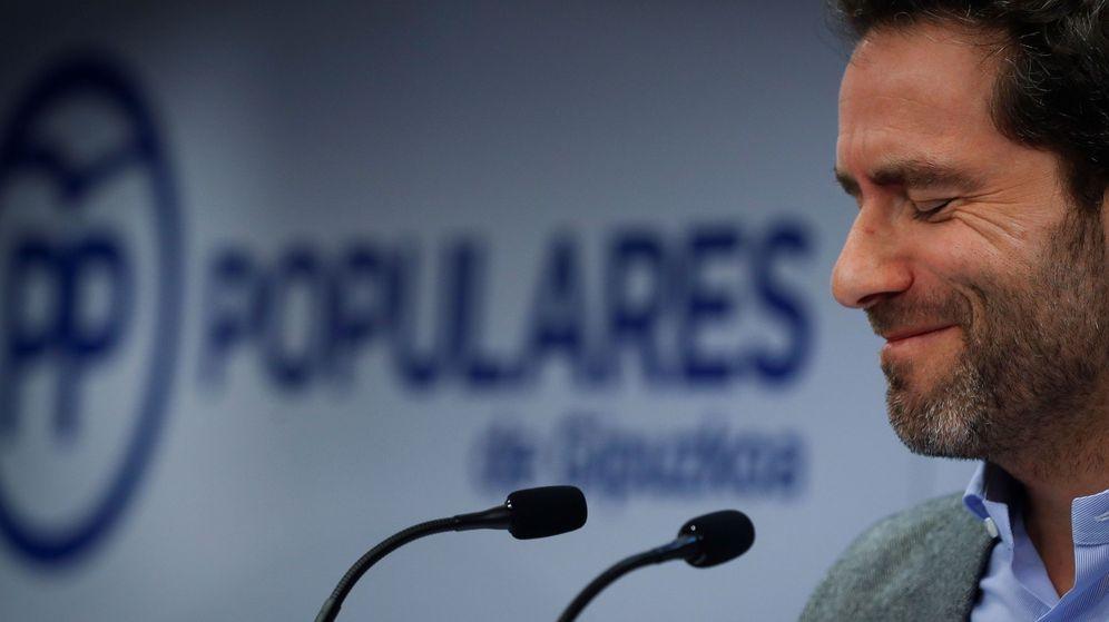 Foto: Sémper, en el anuncio de su adiós a la política. (EFE)