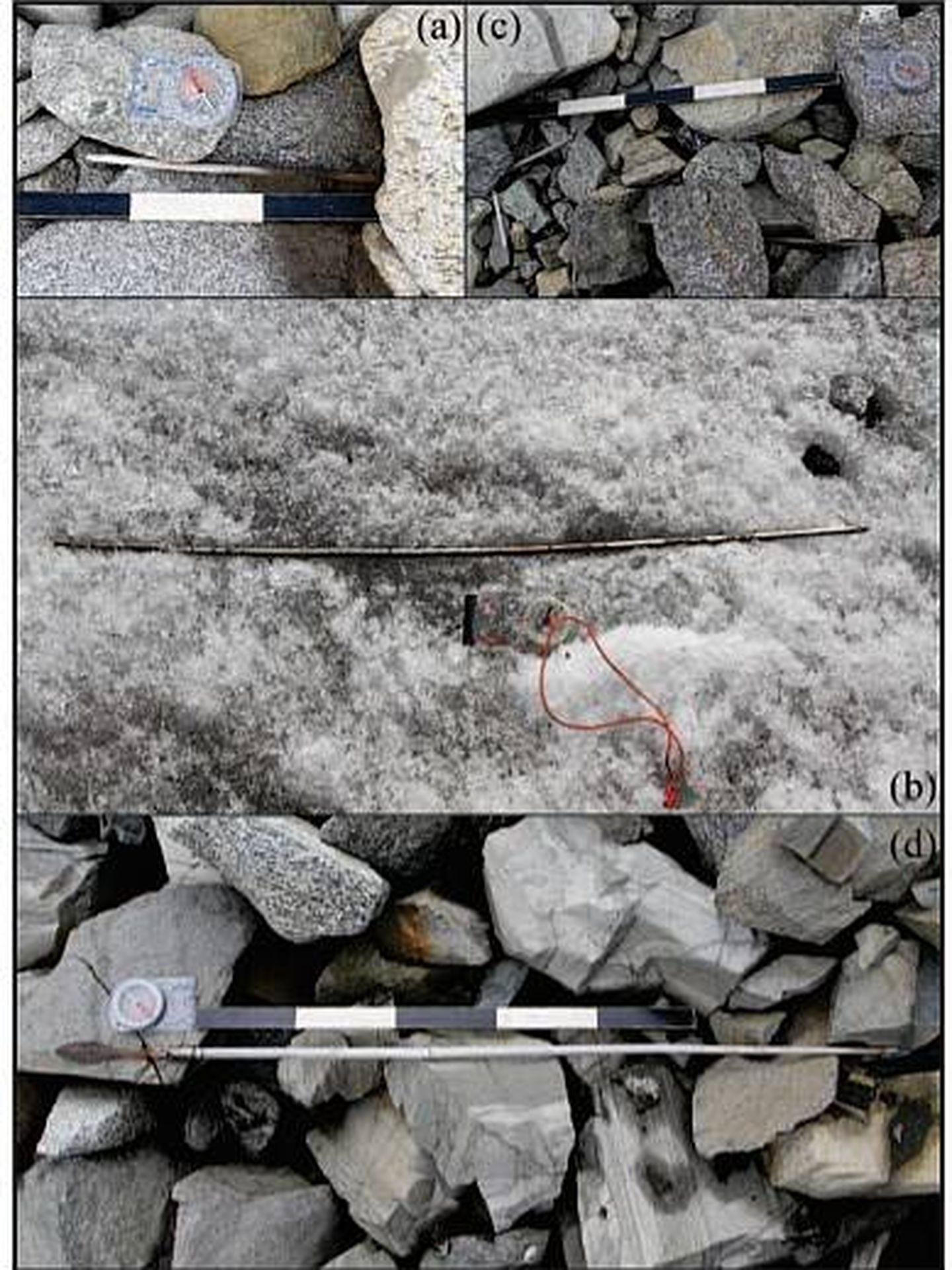 Algunas de las flechas halladas. (The Holocene)