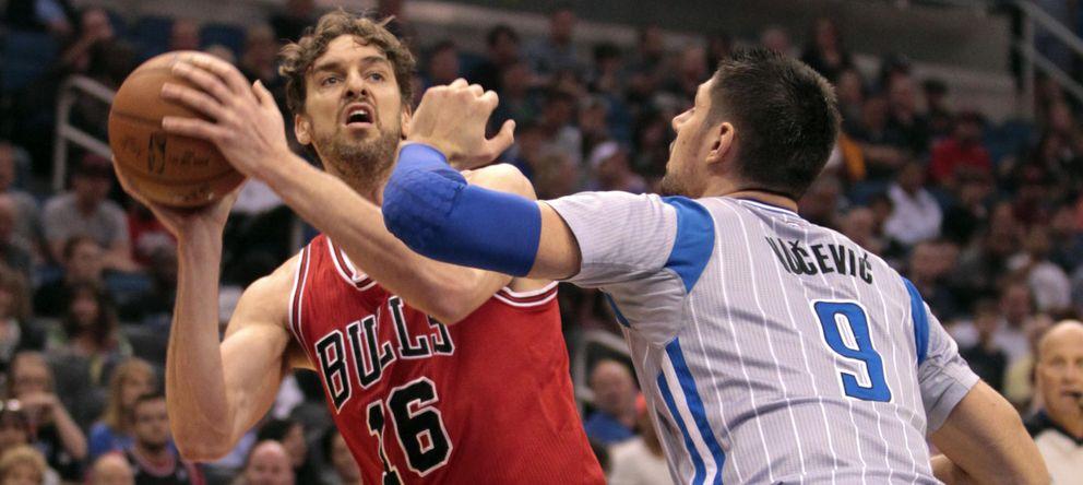 Un mate y un tapón de Pau dan el triunfo a los Bulls y le acercan a la marca de Jordan