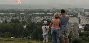 Post de 3.300 evacuados por una explosión en un almacén de armas ruso