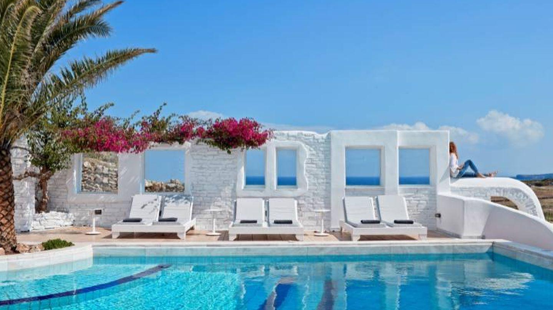 Puro lujo griego en la isla de Paros.