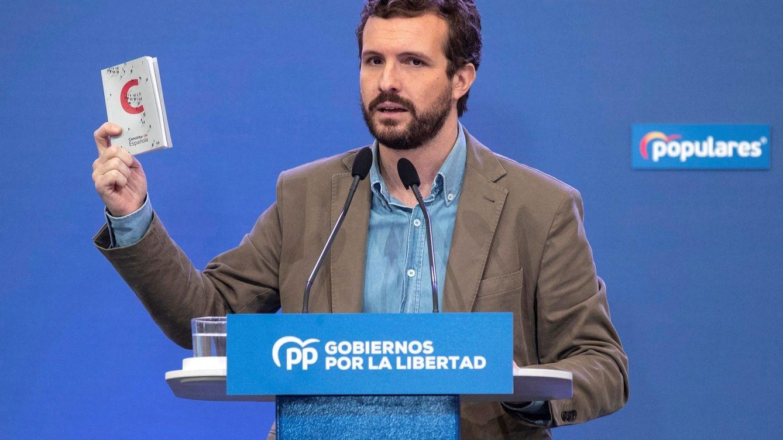 Pablo Casado moviliza a las izquierdas