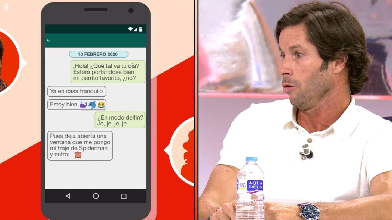 Canales Rivera ante los mensajes en 'Sálvame'. (Mediaset España)