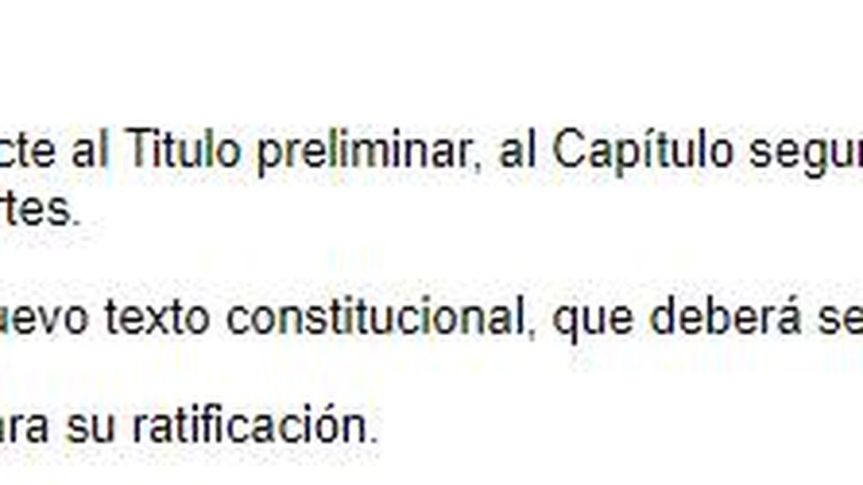 Artículo 168 de la Constitución.
