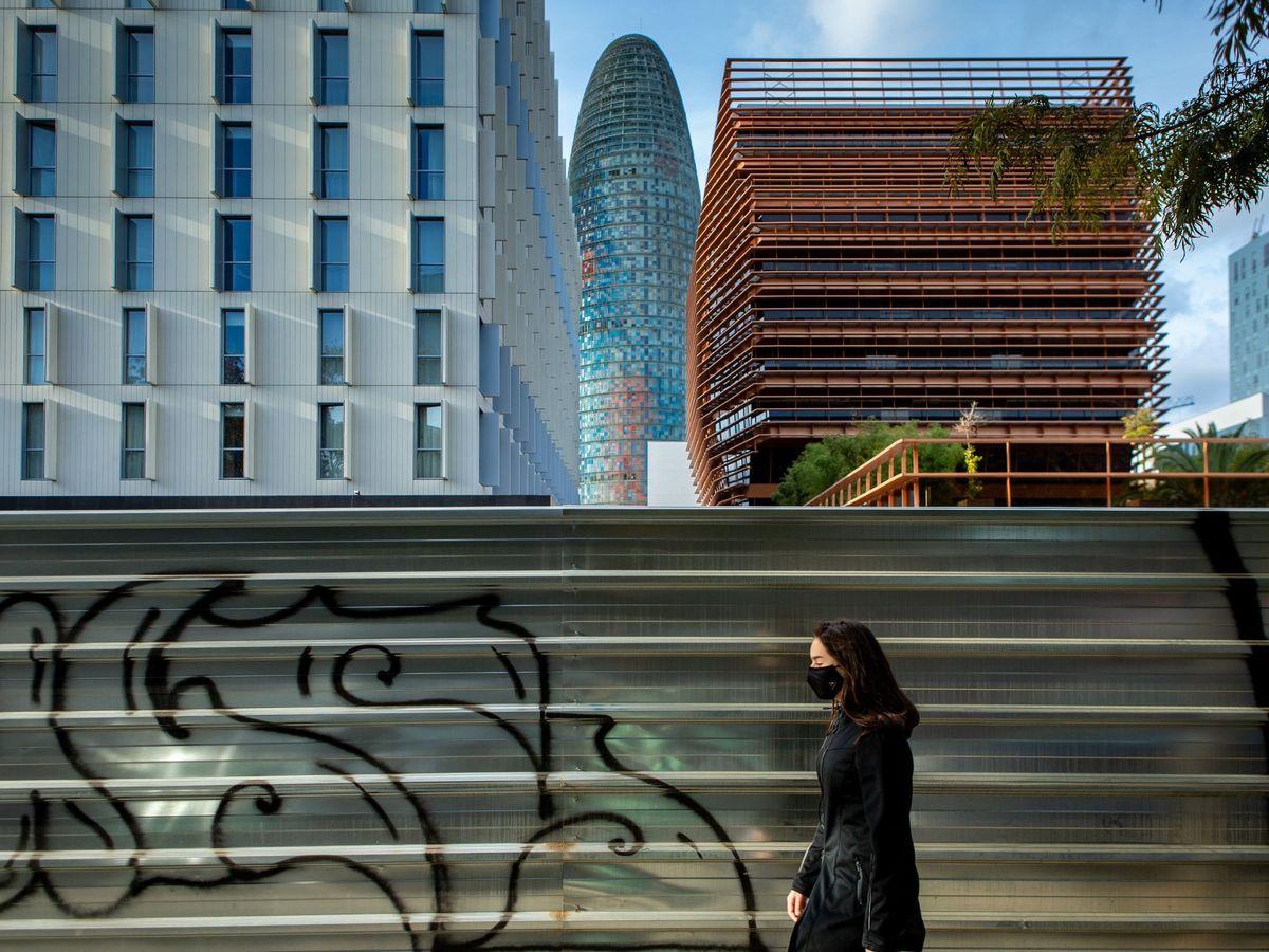 Foto: Imagen de edificio del distrito 22@ de Barcelona