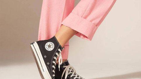 Converse con plataforma negras: las zapatillas que necesitas para tus 'looks'