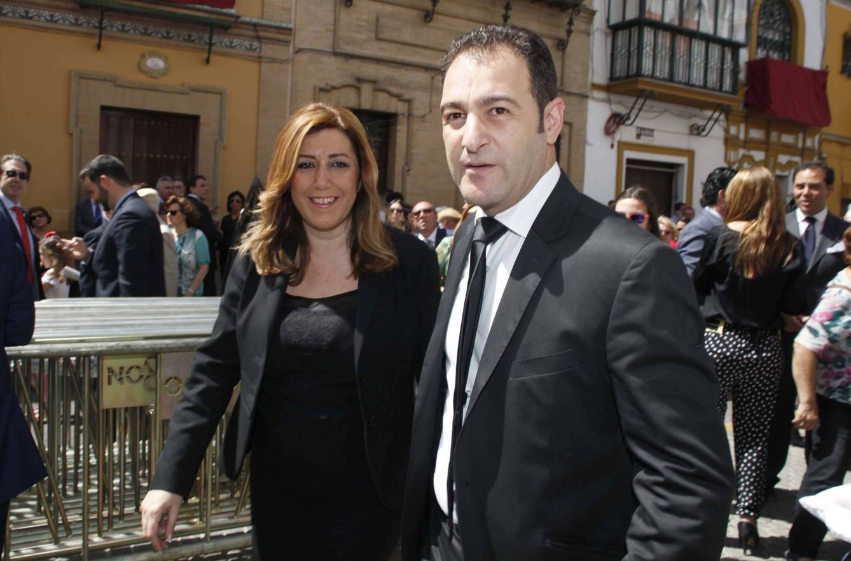 Foto: Susana Díaz y José María Moriche en una imagen de archivo (Gtres)