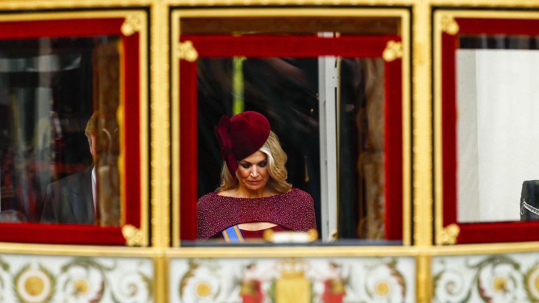 Máxima de Holanda reversiona el vestido capa de su 'coronación' en el Prinsjesdag