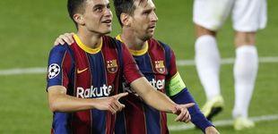 Post de El infierno de Riqui Puig y Aleñá en el Barça y cómo Pedri les ha pasado por encima