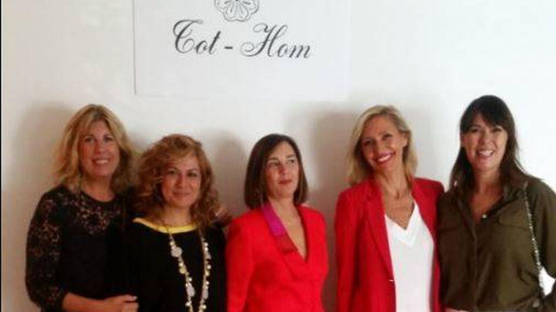 Carmen Valiño, Pilar Jurado, Charo Izquierdo, Marta Robles y Mabel Lozano. (Vanitatis)