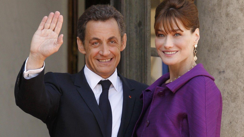 Nicolas Sarkozy y Bruni, durante su etapa en el Elíseo. (Reuters)
