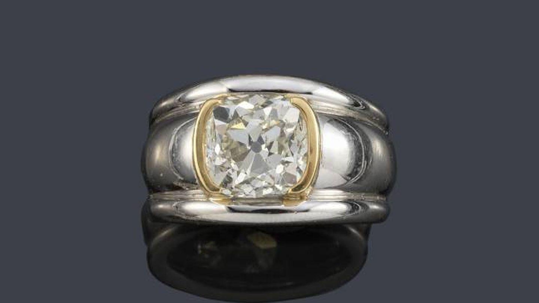 El anillo de Victoria Eugenia.