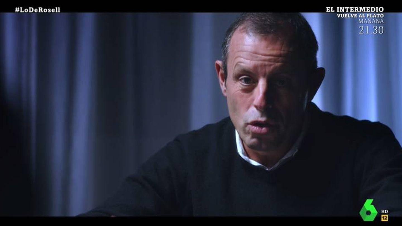 Rosell comentando su experiencia en la cárcel con Bárcenas. (La Sexta).