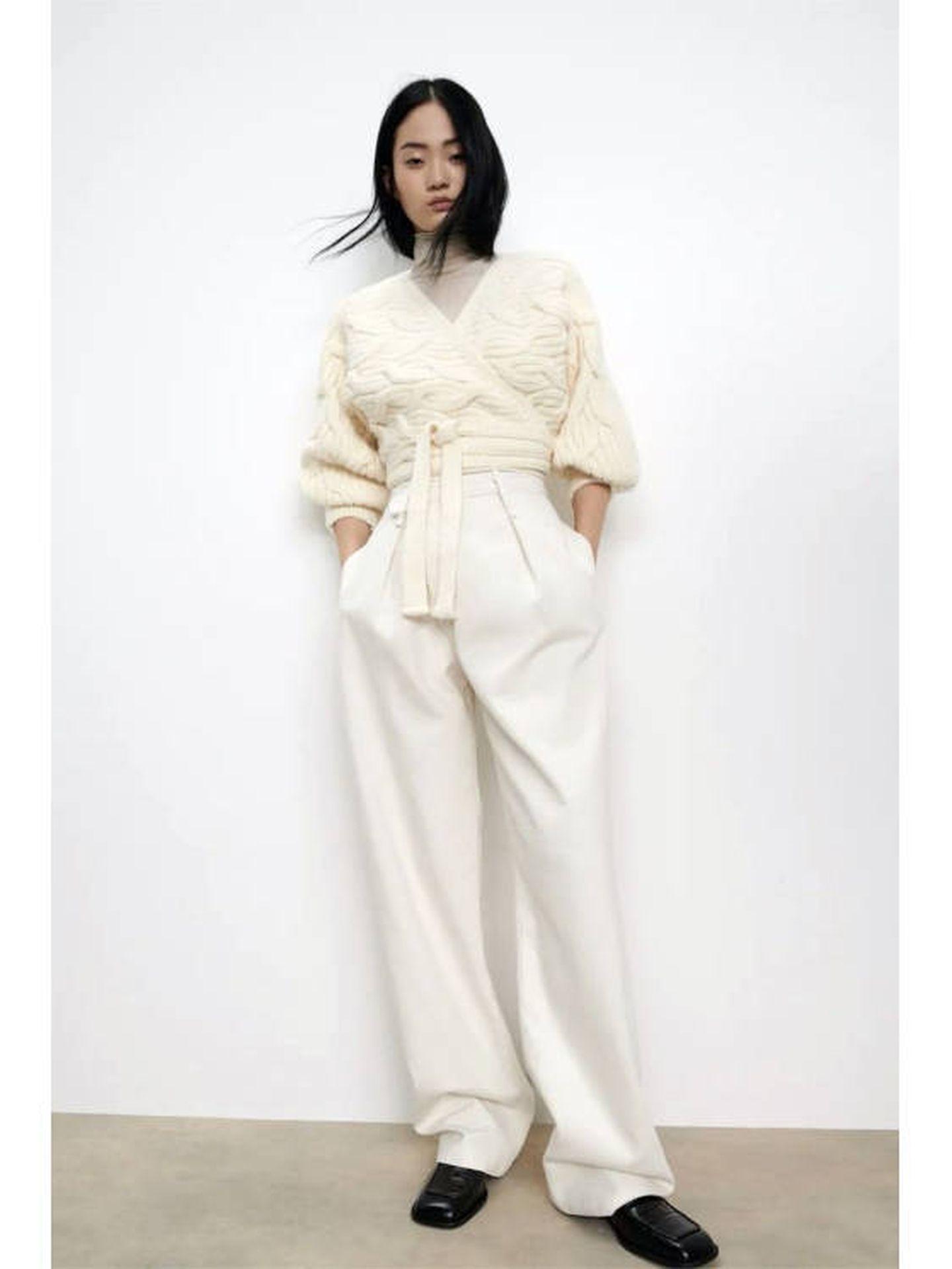 La chaqueta de Zara. (Cortesía)
