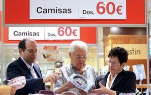 Las expectativas de los comerciantes para las rebajas chocan con la reducción del gasto