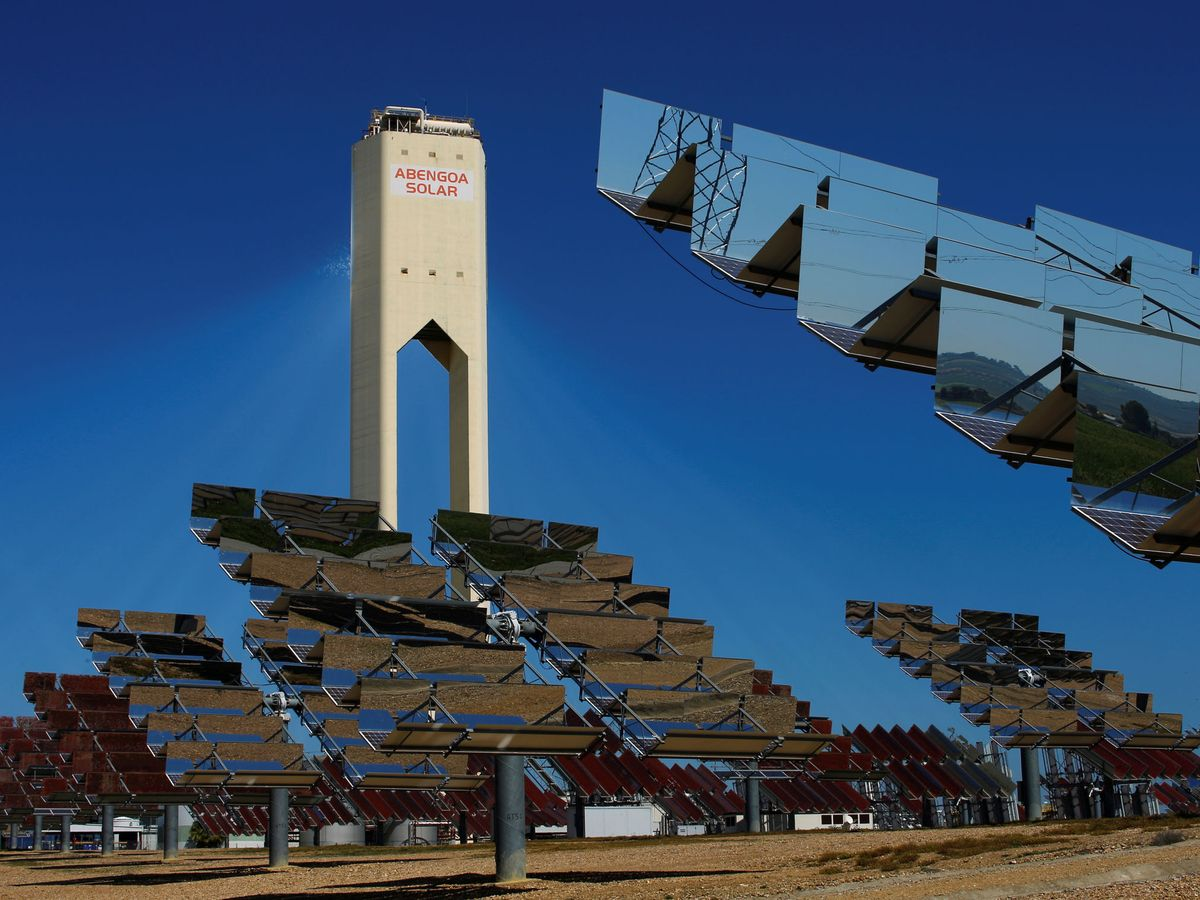 Foto: Planta solar de Abengoa. (Reuters)