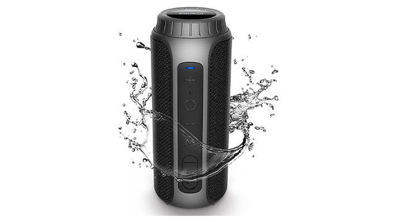Altavoz impermeable con Bluetooth y sonido estéreo de Zamkol